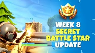 Week 8 Secret Battle Star Update - Fortnite Battle Royale