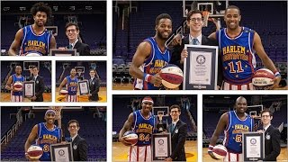 Harlem Globetrotters set seven Guinness World Records® records