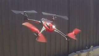 Traxxas LaTrax Alias Quadcopter - Flying Slaloms in Gusty Wind