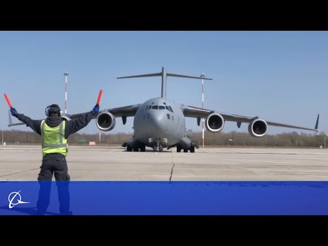 Boeing Supports C-17 Customers Delivering COVID-19 Aid