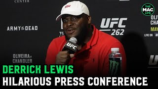 Derrick Lewis says f*** Elon Musk and Caitlyn Jenner should play Dana White in a movie