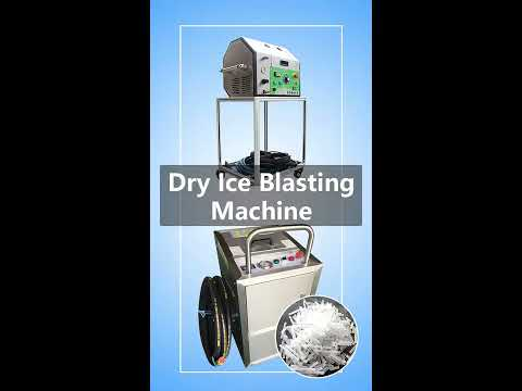 Dry Ice Blasting Machine Dry Ice Blaster Applications in Cleaning Molds, Engines, Paint, and Tires