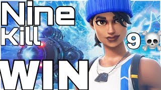 Blue Striker Free Skin's And Glider Blue Streak / Fortnite PS4 Blue team leader 9 kill solo win