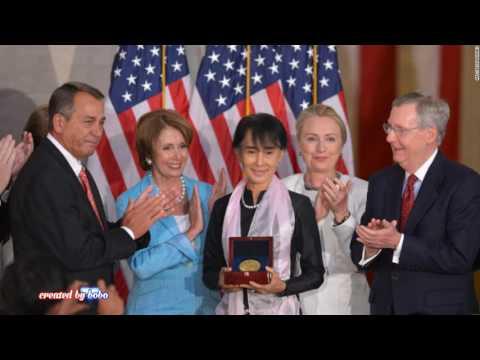 ခ်မ္းေျမ့ပါေစ အေမ, မေနာ, Manaw, Aung San Suu Kyi song