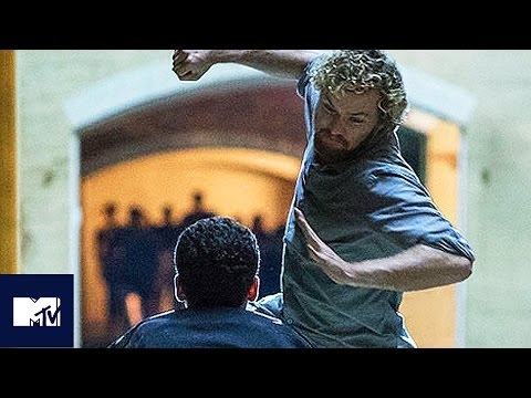 IRON FIST v THE HAND Fight BEHIND THE SCENES With Finn Jones | MTV