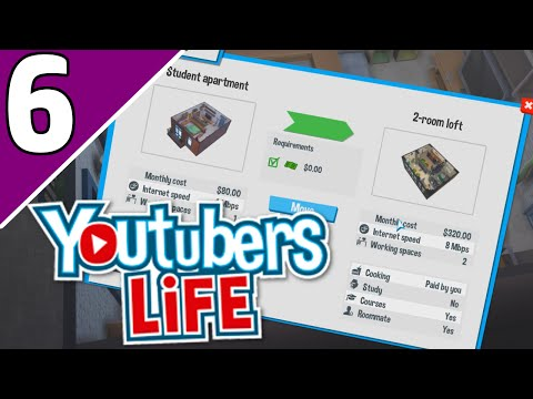 let's-play-youtubers-life-ep-6-|-my-own-home!-(youtubers-life-game-gameplay)