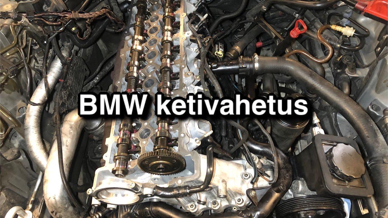 BMW 530d E61 M57D30 ketivahetus