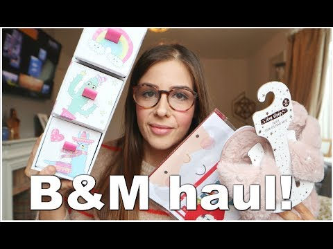 B&M HAUL - FOOD, CHRISTMAS GIFTS & MORE! | KERRY CONWAY