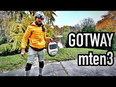 The $1000 Pocket-Rocket - GOTWAY Mten3 37kph/10kg Electric Unicycle - Better Than The OneWheel Pint?