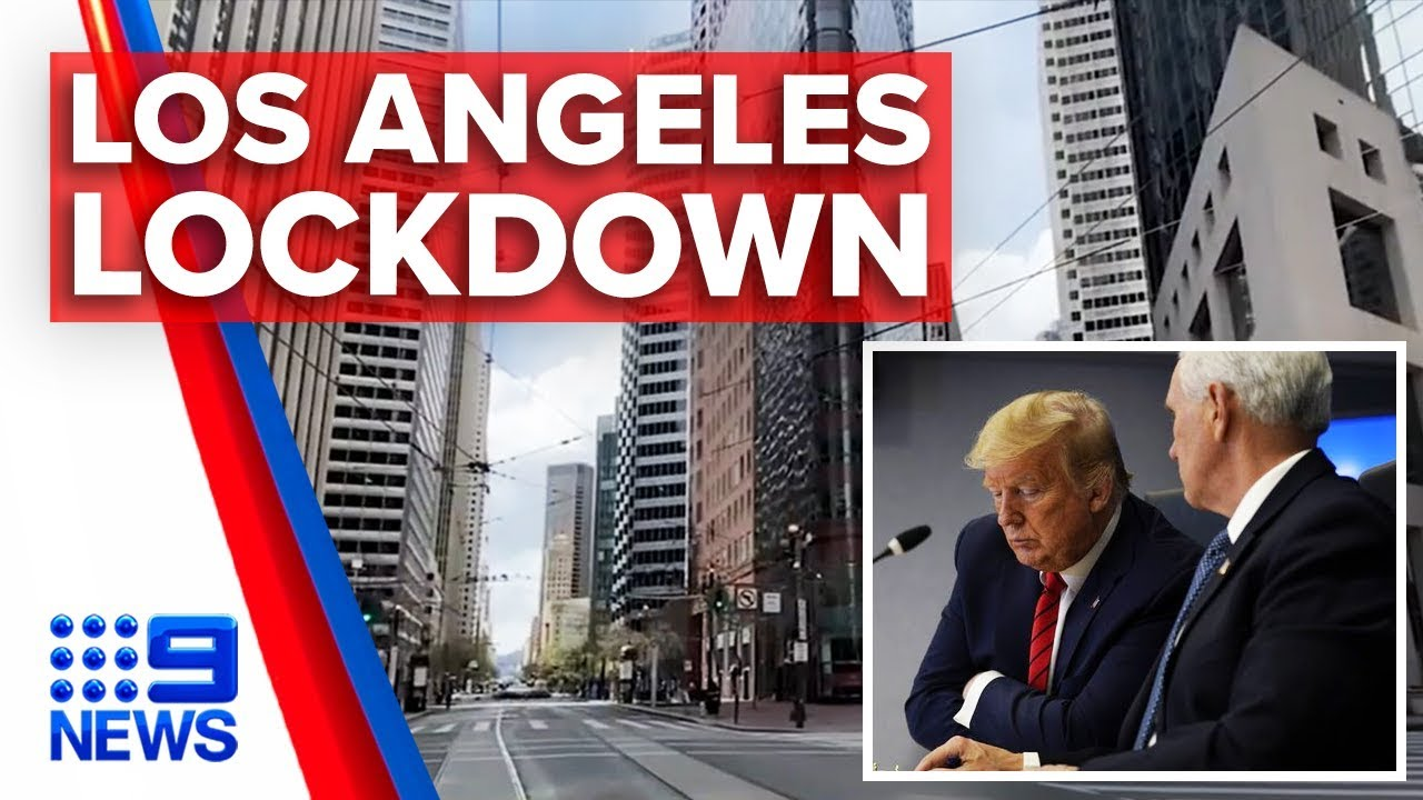 Los Angeles County in near lockdown after 'safer-at-home' order ...