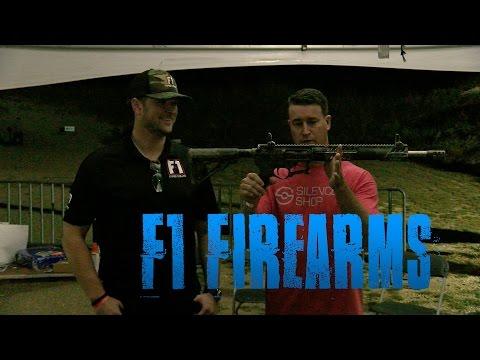 F1 Firearms - Texas Firearms Festival 2016 || The Bullet Points