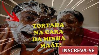 DEI UMA TORTADA NA CARA DA MINHA MÃE!  | TV CHAMINHA
