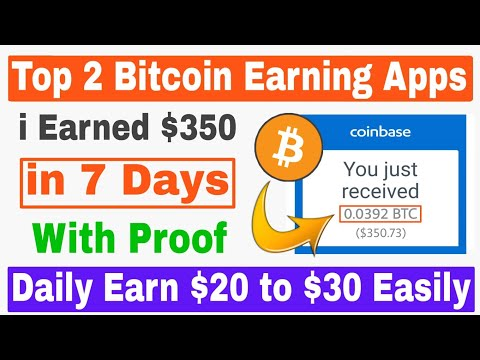 Top 2 Bitcoin Earning Apps 2019 🔥 | I Earned $350 With Proof