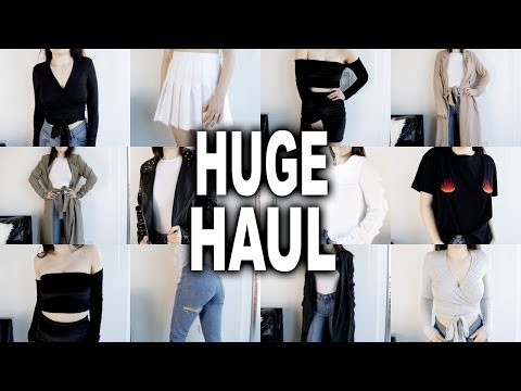 HUGE SUMMER TRY ON HAUL | American Apparel, NA-KD, Boohoo, Ivy Revel