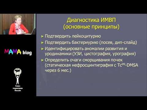 Инфекции мочевыводящих путей у детей  Комарова О В