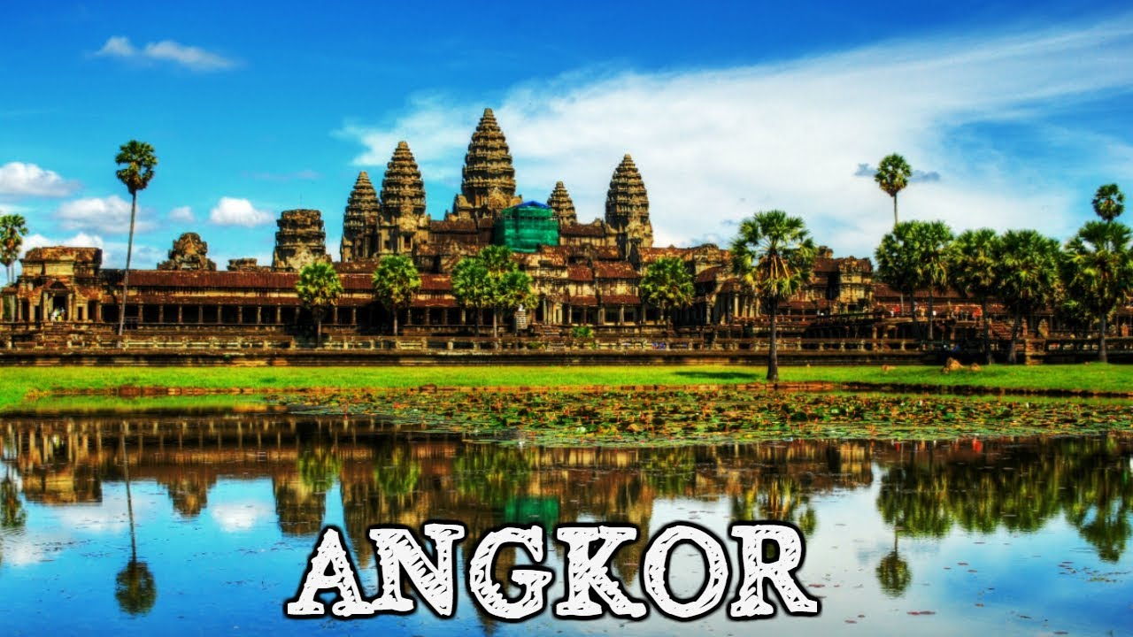 Отдых в Камбодже / Siem Reap and Temples of Angkor in 4K (Ultra HD)