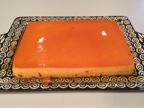 Unico Y Delicioso Flan De Zanahorias ,Original Como Yo