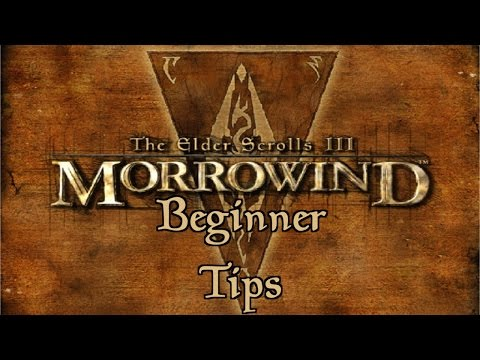 Morrowind Beginner Tips