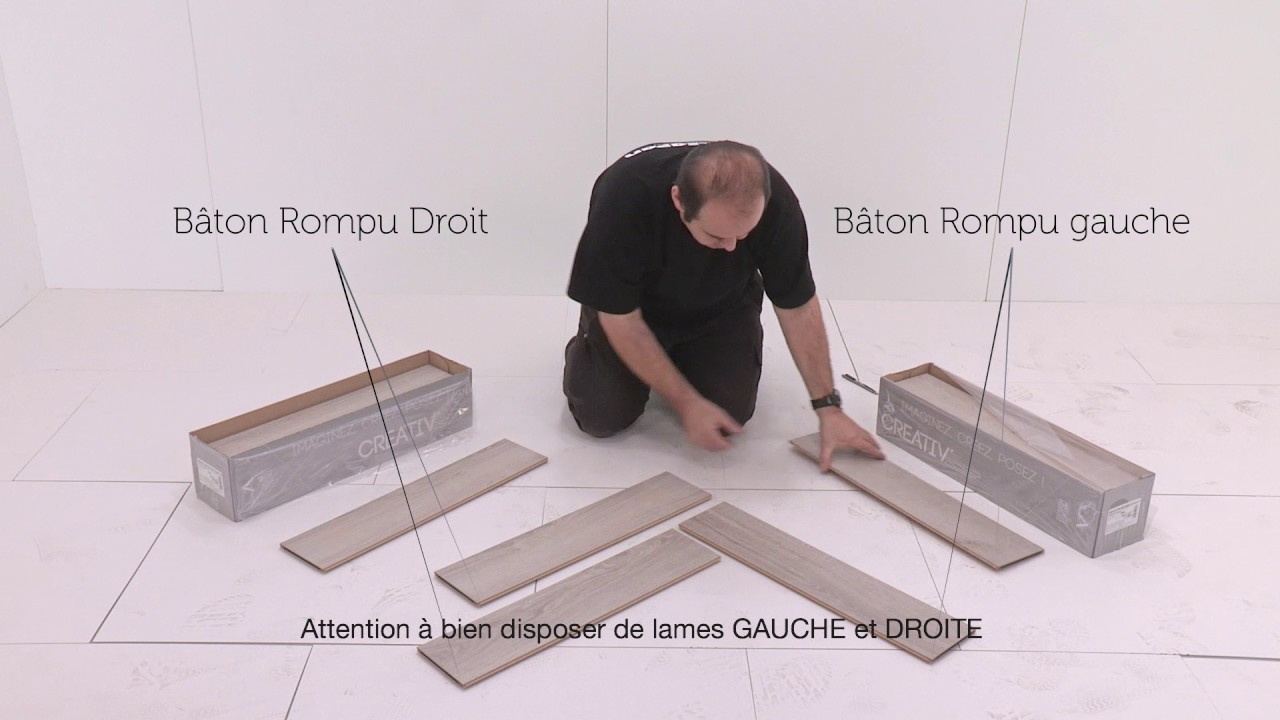 pose de sol alsafloor en baton rompu du grand art youtube