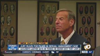 Filner cleared in sexual harassment civil lawsuit