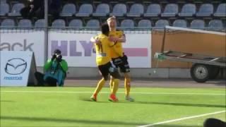 Maalikooste: KuPS - FC Inter 2-1