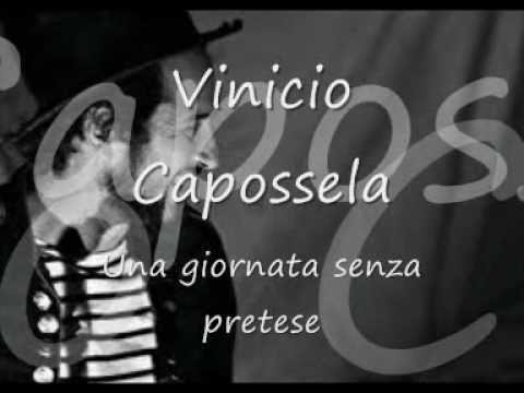 Una giornata senza pretese - V. Capossela