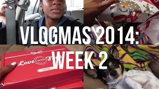 VLOGMAS WEEK 2: Getting Caught Up, Presents, Love with Food! Thumbnail
