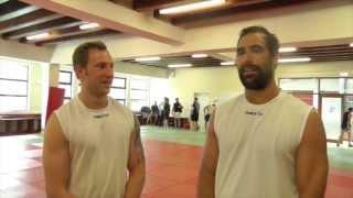 Warriors Pre-season Training At Judo Scotland