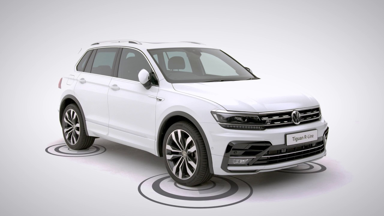 a closer look at the volkswagen tiguan r line youtube. Black Bedroom Furniture Sets. Home Design Ideas