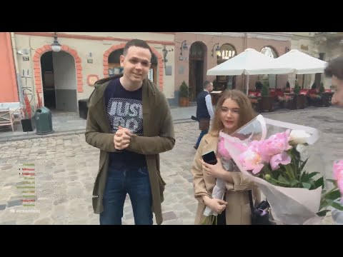 Mapke и Kostbl4 дарят цветы во Львове (mokrivskiy, Zloy, Indian0ch)