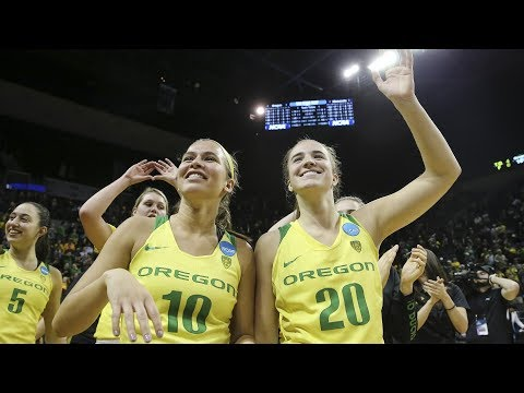NCAA Women's Basketball Tournament highlights: Sabrina Ionescu's 29 points lead Oregon to Sweet 16