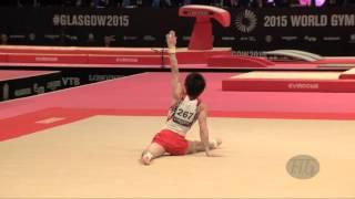 UCHIMURA Kohei (JPN) - 2015 Artistic Worlds - Qualifications Floor Exercise