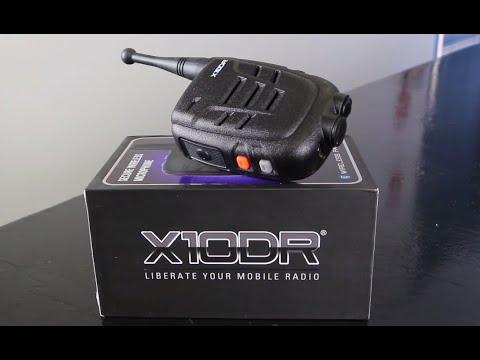 X10DR® Secure Wireless Remote Speaker Microphone - Range Test Review Video