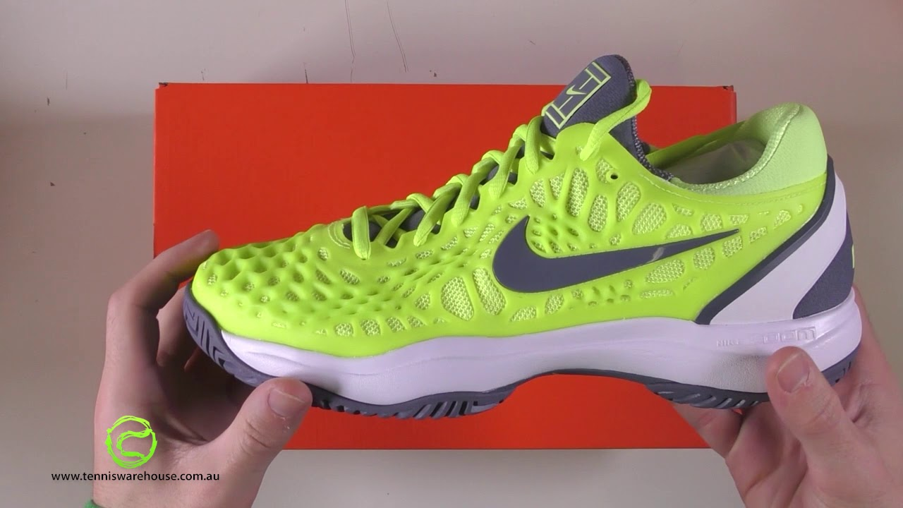 famous brand sale online new collection Nike Zoom Cage 3 HC Volt Glow/Carbon - YouTube