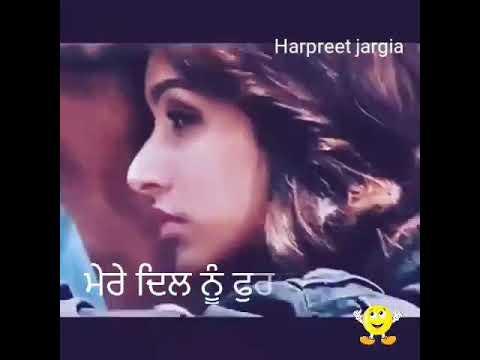 Dil di kitaab  Surjit khan Lyrics video for whatsapp Video status 2017