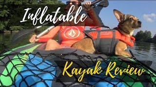 inflatable kayak intex challenger k2 test and review