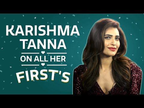 Karishma Tanna on all her firsts | S01E03 | My First Time | Bollywood | Fashion | Pinkvilla thumbnail