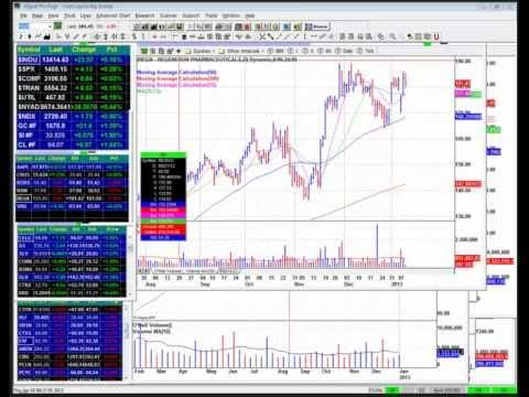 Stock Sell - New Buy Points - Webinar 1-10-13