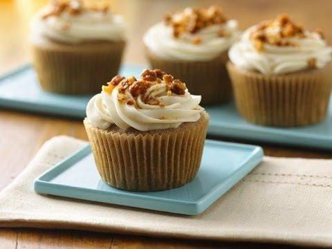 Deliciosos Cupcakes De Nuez Y Canela Con Bet 250 N De Maple