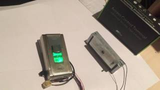 Электромагнитный замок по отпечатку пальца(биометрический)(, 2016-07-20T15:52:09.000Z)