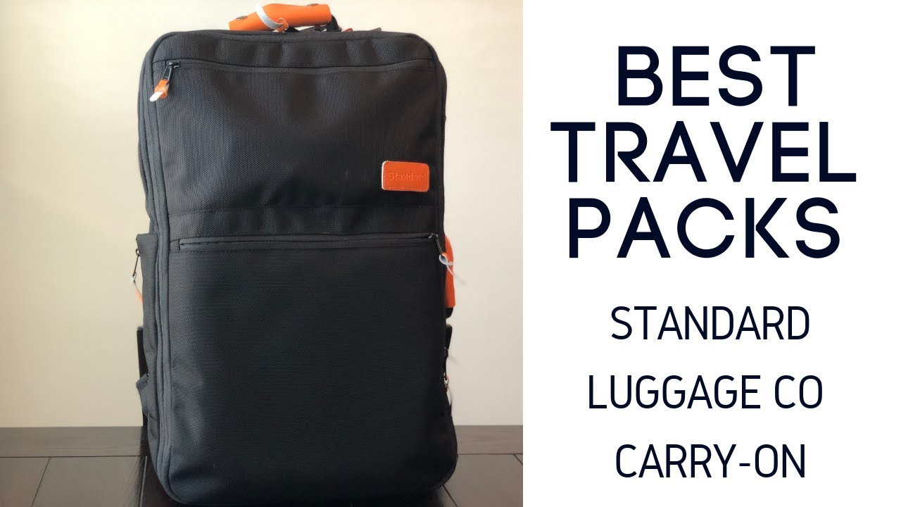 bbfc600dabc0 Best Travel Bags: Standard Luggage Co Carry-On Backpack (and Travel System)  Review