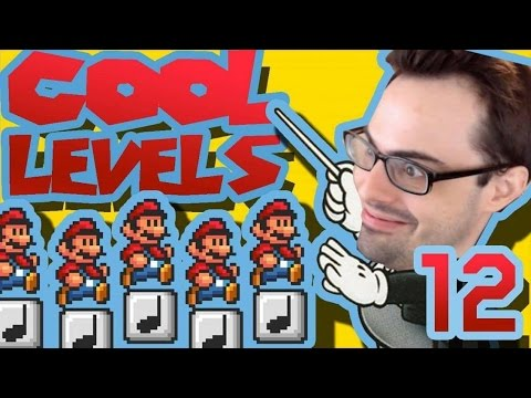 Mario Maker - 🎵 Awesome Music Platforming Levels 🎵 | Cool Levels #12