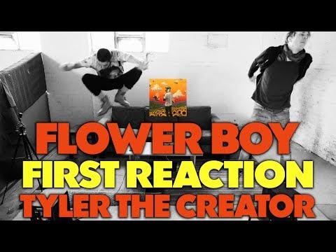 TYLER THE CREATOR - FLOWER BOY FIRST REACTION/REVIEW (JUNGLE BEATS)