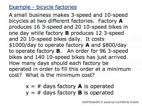 Linear Programming Word Problems Worksheet With Answers - Worksheets