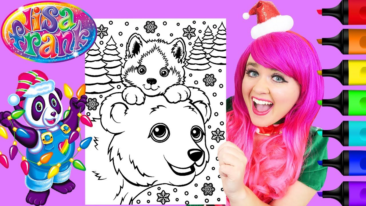 Lisa Frank Animal Coloring Pages To Print - High Quality Coloring ... | 720x1280