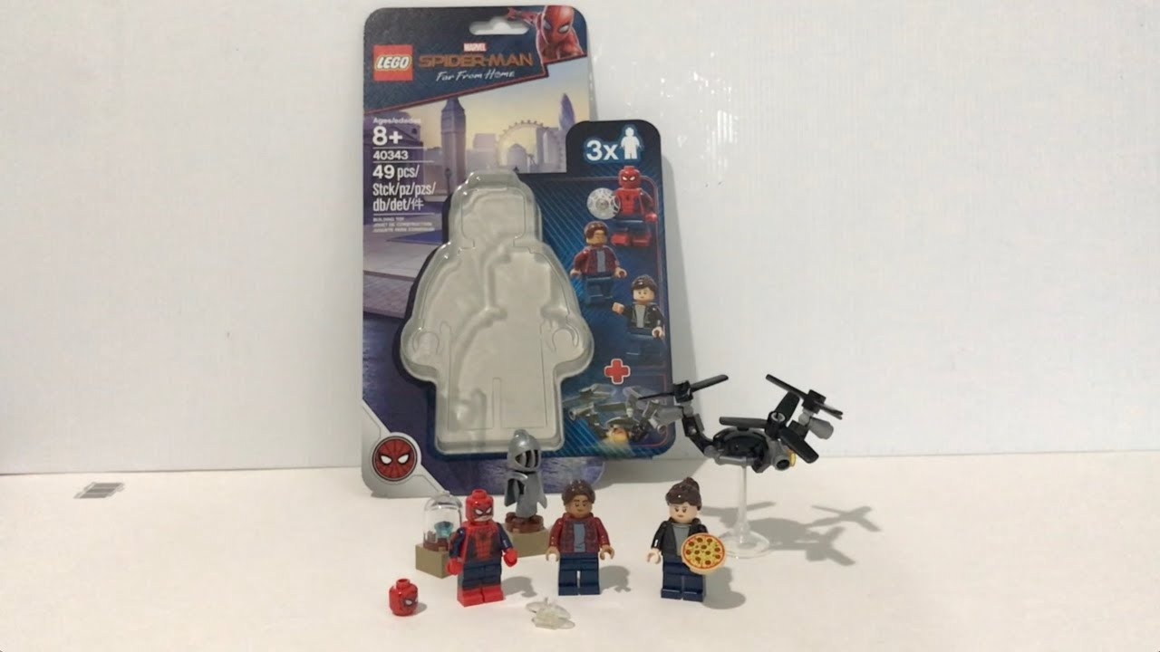 40343 LEGO Marvel Spider-Man Spider-Man and the Museum Break-In