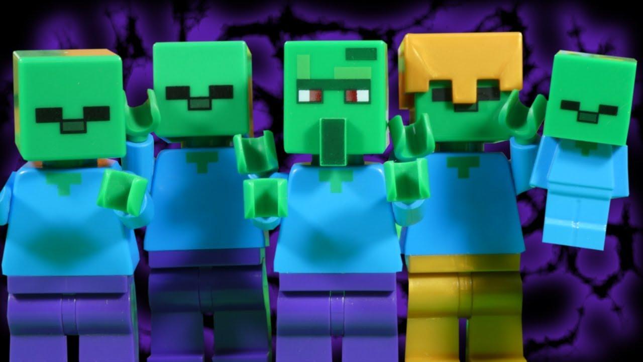 LEGO MINECRAFT - ZOMBIE HOARD INVASION