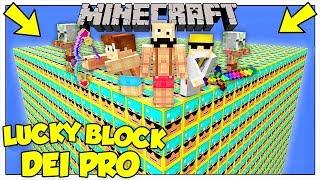 LA SFIDA DEI LUCKY BLOCK GIGANTI DEI PRO! - Minecraft ITA thumbnail