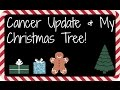Cancer Update &  My Christmas Tree!