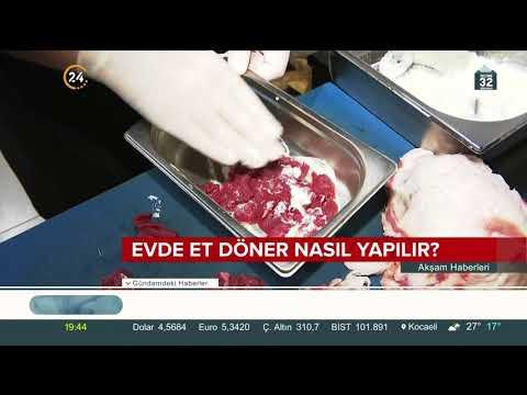 Evde Et Döner Nasıl Yapılır? / 24 TV / 24 Mayıs 2018